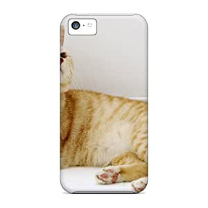Ideal Touching Rhythms Case Cover For Iphone 5c(beautiful Cat), Protective Stylish Case
