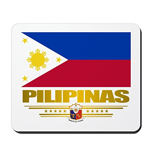 "CafePress - Pilipinas"" - Non-slip Rubber Mousepad, Gaming Mouse Pad"