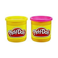 Play-Doh 2 Pack Neon Colors (Amarillo /Rosa)