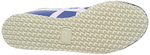 Bleu 4201 Chaussures Mixte Messico 66 de Fitness White Classic Blue Asics Adulte 0Za77