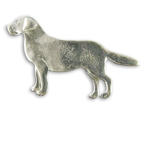 Pewter Labrador Pin by The Magic Zoo big discount