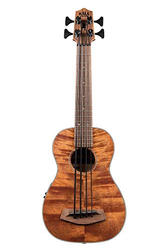 Kala UBASS-EM-FS Exotic Mahogany U-Bass Fretted ()