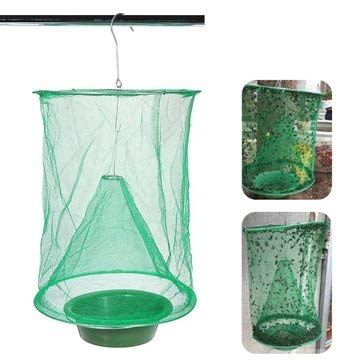 Fly Trap Insect Trap Net Gardening Hanging Folding Reusable Drosophila Insect Catcher Killer Cage Environmentally Friendly - Hand Tools Other Tools