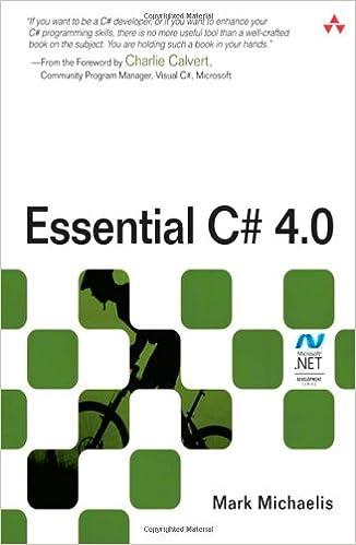 Essential C# 4.0 (3rd Edition) (Microsoft Windows Development Series)