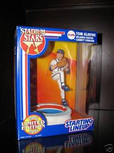 Tom Glavine Atanta Braves Stadium Stars Starting Lineup (Atlanta Baseball Stadium)