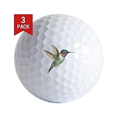 CafePress - Hummingbird - Golf Balls (3-Pack), Unique Printed Golf Balls
