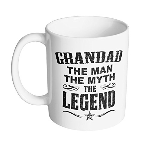 Mug King - Grandad The Legend 11-Ounce Coffee Mug / #1 Gift for Any Coffee - Mug Grandad
