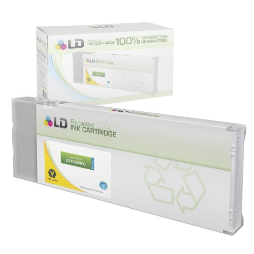 LD Remanufactured Epson T6064 / T606400 High Yield (220ml) Yellow Ink Cartridge for 4800 Stylus Pro, 4800 Portrait Edition, 4880 Stylus Pro, 4880 ColorBurst Edition & 4880 Portrait Edition
