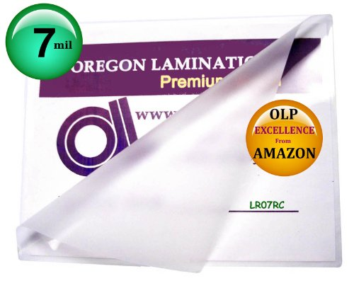 (Oregon Lamination Hot Laminating Pouches [pack of 100] 7 Mil 9 x 11-1/2 Letter size)
