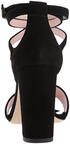 New Spade Kate Isolde WoMen Sandal Black York Heeled 6Bwqwg85