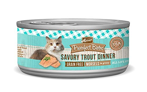 Merrick Purrfect Bistro Savory Trout Morsels Cat Cans, 5.5 o