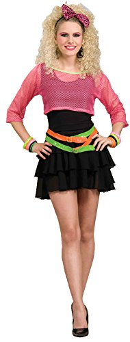 80s Groupie Costume - Standard - Dress Size ()