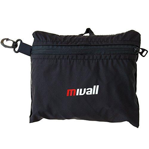 Mivall Reisetasche Ultra Bag, Schwarz, 52 x 25 x 25 cm, 30 liter, 10124234