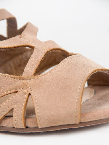 Breckelles Kvinnelige Solo-04 Sandaler Taupe