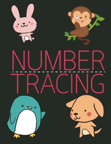number tracing book - 7