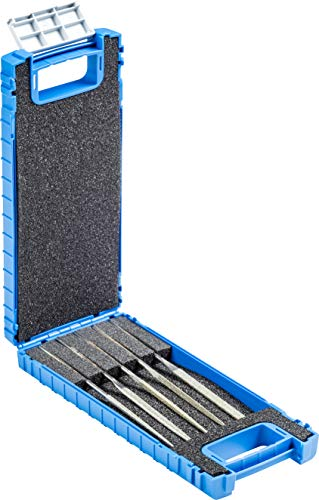 Pferd 5 Piece Needle File Set, Diamond Grit, Coarse, 5-1/2