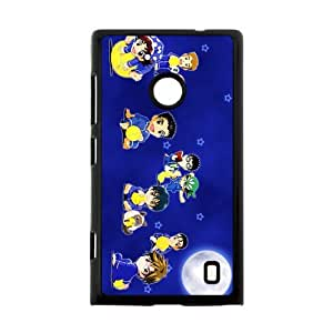 Custom Japanese manga series The Prince of Tennis Nokia Lumia 520 Hard Plastic Black Case Cover Shell (HD image)