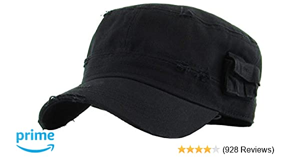 Cadet Army Cap Basic Everyday Military Style Hat (Now with STASH Pocket  Version Available) at Amazon Men s Clothing store  70637898e3