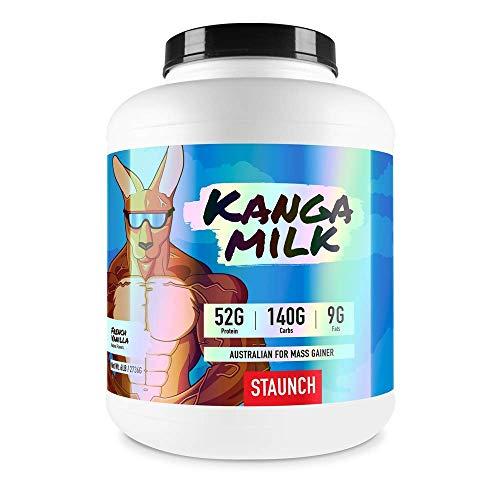 Staunch Kanga Milk (French Vanilla) - Premiere. High Quality Mass Gainer
