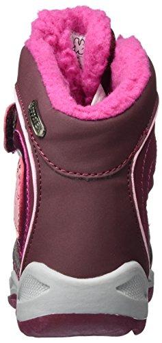 Kappa Tex 2522 Red Kids Boots Mädchen Dark Combat Valentine Pink Rot PPrqRxSw