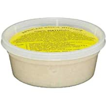 "REAL African Shea Butter Pure Raw Unrefined From Ghana ""IVORY"" 8oz. CONTAINER"