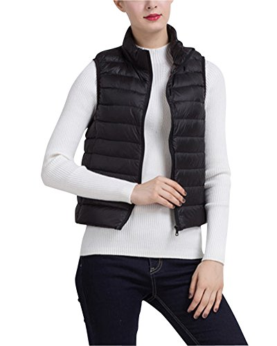 Hiking Padded Lightweight Body Womens Gilet Vest Warmers ZhuiKun Black nZxX1wn