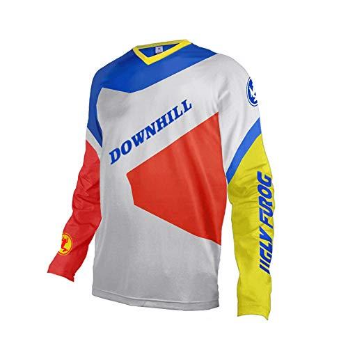 Uglyfrog Downhill Jersey Winter Thermal Fleece Men's Cycling Jersey Long Sleeves Bike Shirt Cycling Jacket Riding Long Sleeve ()