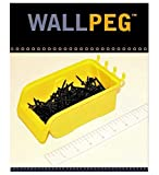 WallPeg Pegboard Bin Kit, Pegboard Parts Storage Bins Organizer Large Size Bins