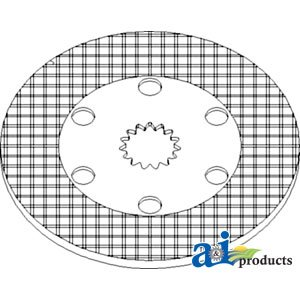 A&I Products Disc, Brake Replacement for John Deere Part Number RE186965
