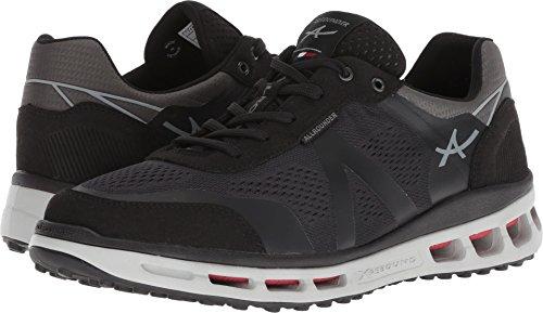 Allrounder by Mephisto Men's Xanthos Black Suede/E Mesh 43 M EU (Allrounder Black Shoes)