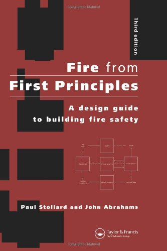 Fire from First Principles: A Design Guide to Building Fire Safety by Routledge