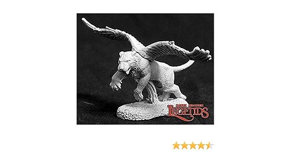 Reaper Miniatures Winged Tiger #02635 Dark Heaven Legends Unpainted Metal Figure