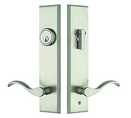 Beau Rockwell Verano Entry Door Lock Handle Set With Chelsea Lever In Brushed  Nickel Bronze Finish,