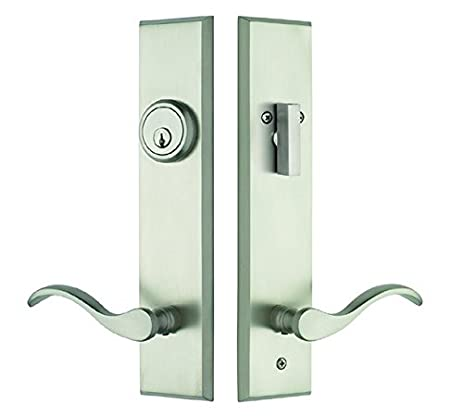 Rockwell Verano Entry Door Lock Handle set with Chelsea Lever in ...