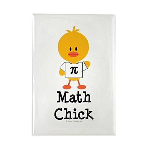 CafePress Math Chick Rectangle Magnet, 2