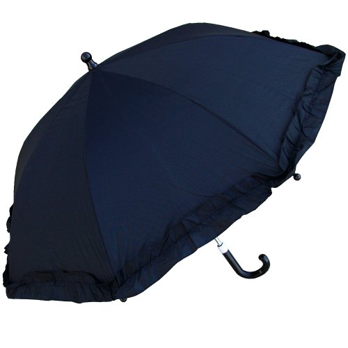 RainStoppers Kid's Umbrella, Black, 34-Inch ()