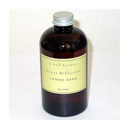 K. Hall Designs Scent Diffuser 8 Oz. Refill - Lemon - Hall Diffusion Refill Designs