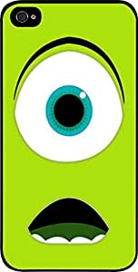 Wazowski- Hard Black Plastic Snap - On Case -Apple Iphone 6 ONLY- Great Quality! by lolosakes