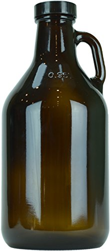 12 pack 32oz Amber Growler product image