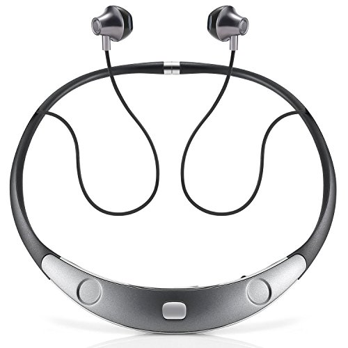 Bluetooth-Headset-Call-Vibrate-Alert-HiFi-Wireless-Neckband-Headphones-Stereo-Noise-Reduction-Earbuds-w-Mic-by-Audioxa
