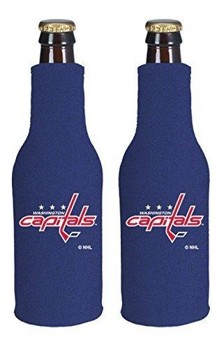 fan products of NHL Hockey 2014 Team Color Logo Bottle Suit Holder Koozie Cooler 2-Pack (Washington Capitals)