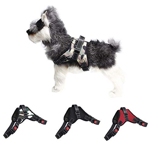 (Pet Adjustable Vest Chest Strap Walking Traction For Small Medium Dogs Saddle Type Pet Explosion Proof Traction Rope Harness Easy Control Handle for Small Medium Dogs (A, S))