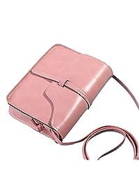 Simple Stylish Top Handle Bag Elegant Mini Handbags Fashion Women Soft Leather Messenger Bag Student Wallet