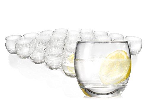 Luminarc Gläser-Set 24tlg. Trink-Glas Dessert-Glas Cocktail-Gläser Universalglas