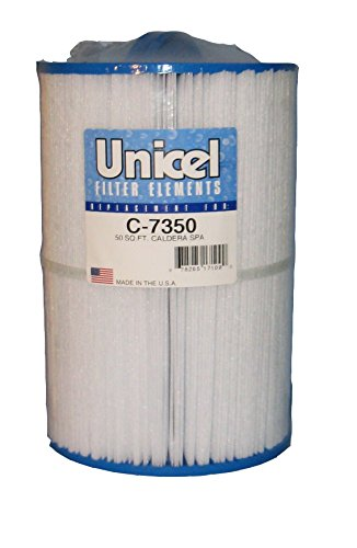 Unicel C-7350 Replacement Filter Cartridge for 50 Square Foot Caldera Spas, New ()