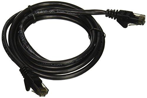 (Belkin A3L980-05-BLK-S Cable,CAT6,UTP,RJ45M/M,5',BLK,Patch,SNAGLESS)