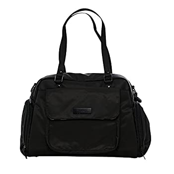 Image of Baby JuJuBe Be Pumped Insulated Breast Pump Bag, Onyx Collection - Black Out