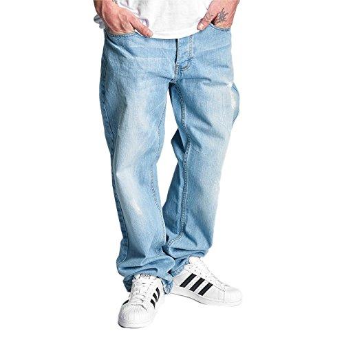 Rocawear Herren Jeans / Loose Fit Jeans Loose blau W 44