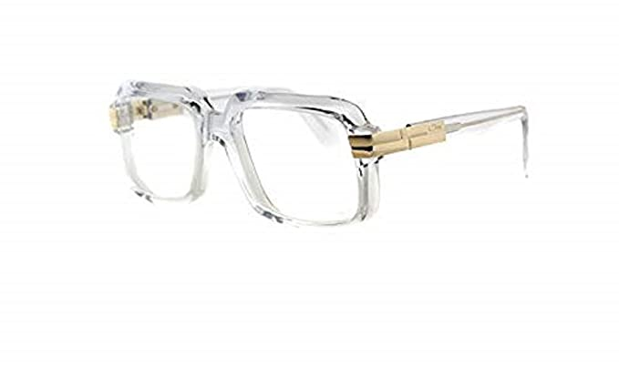 e70343489f2 Amazon.com  Cazal Eyeglasses 607 Clear Color 065 56x18  Clothing