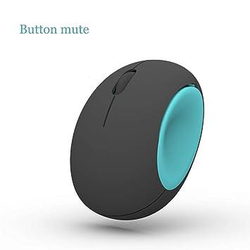 Alte Green Ratón Sin Hilos Silencioso, Ratón Compacto del Ordenador Portátil del Ratón del USB,Blue: Amazon.es: Deportes y aire libre
